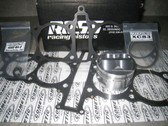 74.50mm Ross Piston Kit This kit includes: (4) Ross 74.50mm 2.931 +/- pistons, (4) Ross XC2933 ring sets, (4) wrist pins, and (8) pin c-clips 4000 WA-9, (1) Cometic custom 74.50mm .040 head gasket (set deck at 0.000) and (1) 5EA base gasket.