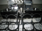 Cylinder Kit, Yamaha FJ, 1380cc Ross Piston & Yamaha Cylinder Kit 83mm