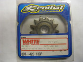Renthal Ultralite Front Sprocket 13-T 307-420-13GP, KTM65 SX 98-08, KTM60 98-00