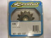 Renthal Ultralite Front Sprocket 307-420-12GP, KTM65 SX 98-08, KTM60 98-00