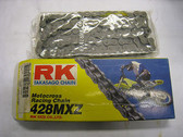 RK 428MXZ Motocross Racing Series Chain, Black, 428MXZ 120L Andrews Motorsports