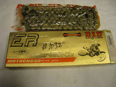 DID 420NZ ER Racing Series Chain, Gold And Black,420NZ 120L, Andrews Motorsports
