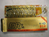DID 428NZ ER Racing Series Chain, Gold And Black,428NZ 120L, Andrews Motorsports