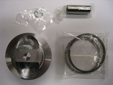TBW0377 Replacement Piston Kit – 60mm (143cc).  It comes with the Piston, Pin, Rings, and Clips.  This piston kit works with the following cylinder heads:  All KLX110 Stock Heads All Z125 Stock Heads For our V2 Race Heads or ZS Race heads, please use the High Compression 60mm Piston Kit (SKU – TBW1390) also available in this section.