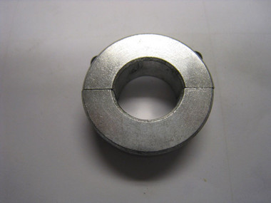 "Clamping Two-Piece Shaft Collar for 3/4"" Diameter, 2024 Aluminum"