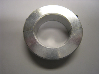 "Clamping Two-Piece Shaft Collar for 1-1/8"" Diameter, 2024 Aluminum"
