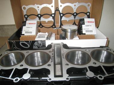 FJ1100 Block & K1195CC Piston Kit, Includes All Parts Shown