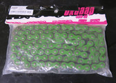 Braaap Pit Bike Chain 420DX-104-GR 420 Pitch 104 Links Green