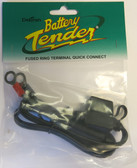 Deltran Battery Tender Fused Ring Terminal Quick Connect
