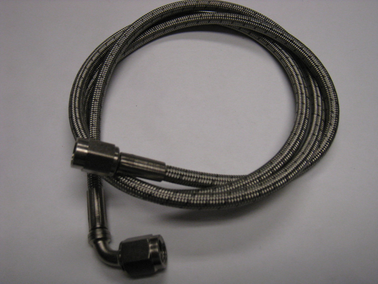 """Legends Race Car SS Braided Line #3 x 12/"""" Straight Female Both Ends 630012XRP"""