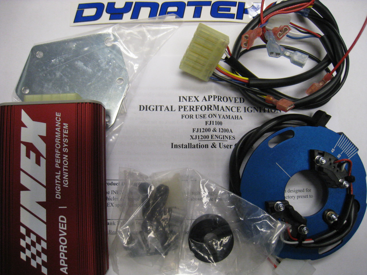 Engine Product Ignition, INEX Approved Dynatek Ignition System, 105X00X210