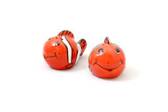Clown Fish Salt & Pepper Shakers