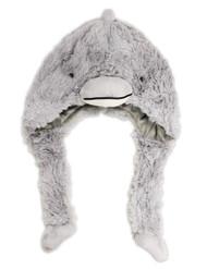 Fuzzy Dolphin Hat