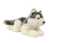 Husky Lying Stuffy