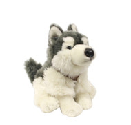 Husky Sitting Stuffy