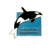 Orca Lapel Pin