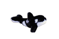 Killer Whale Stuffy 9""