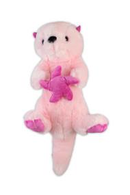 """Pink Sea Otter Stuffy 15"""""""