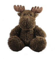 Moose Sitting Stuffy 12""
