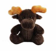 "Moose Sitting Stuffy 6"""