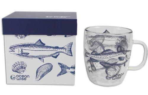 Beautifully designed wine glass mug, fills up to 12 oz.