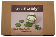 woolbuddy needle felting frog kit