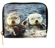 Sea Otter Pair Wallet - small
