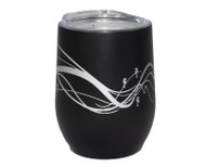 Insulated Wine Tumbler Black