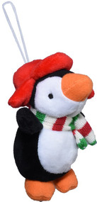 Holiday penguin ornament