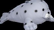 cotton twill seal stuffed animal