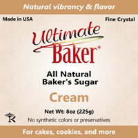 Ultimate Baker Natural Baker's Sugar Cream (1x8oz Bag)