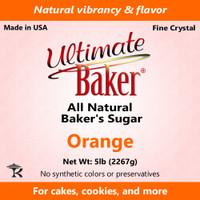 Ultimate Baker Natural Baker's Sugar Orange (1x16lb)