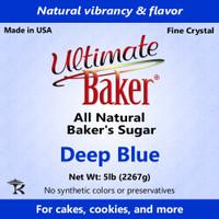 Ultimate Baker Natural Baker's Sugar Deep Blue (1x16lb)