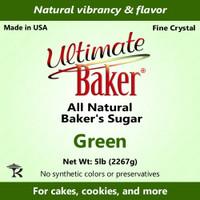 Ultimate Baker Natural Baker's Sugar Green (1x5lb)