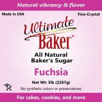 Ultimate Baker Natural Baker's Sugar Fuchsia (1x5lb)