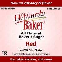 Ultimate Baker Natural Baker's Sugar Red (1x8lb)