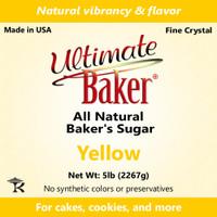 Ultimate Baker Natural Baker's Sugar Yellow (1x8lb)
