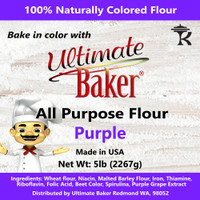 Ultimate Baker All Purpose Flour Purple (1x5lb)