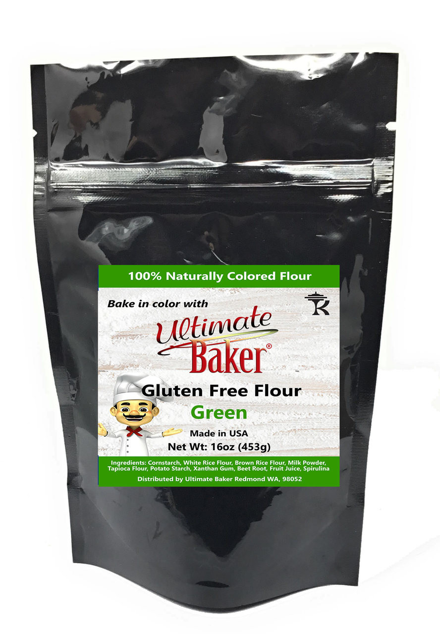 Ultimate Baker Gluten Free Baking Flour Green (1x1lb)