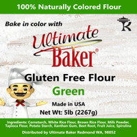 Ultimate Baker Gluten Free Baking Flour Green (1x5lb)