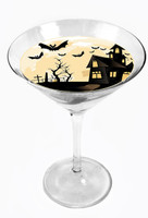 Snowy River Cocktail Toppers Bats (1x6Pack)