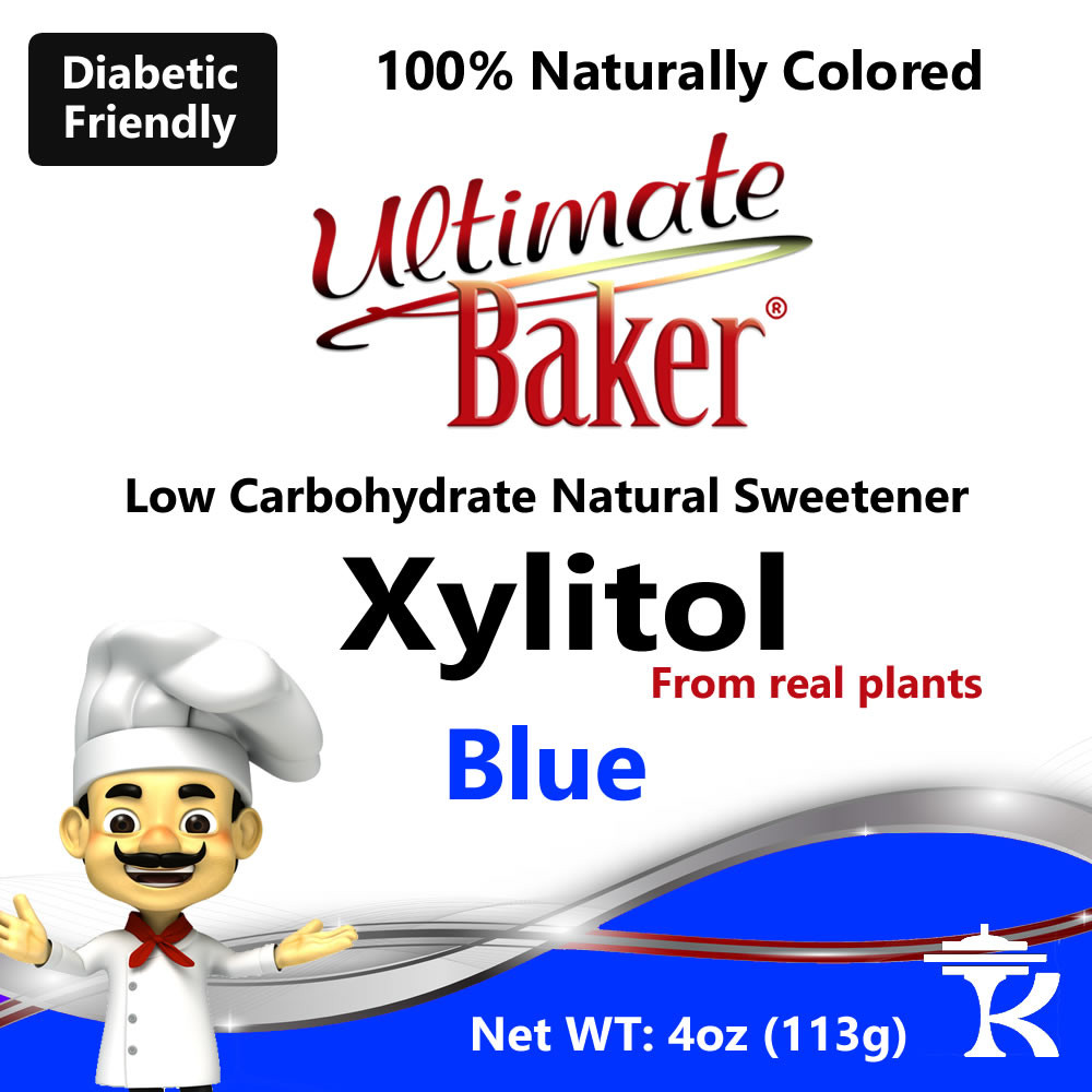 Ultimate Baker Blue Xylitol Natural Sweetener (1x4oz)