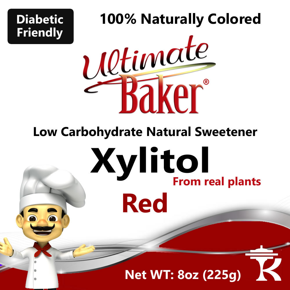 Ultimate Baker Red Xylitol Natural Sweetener (1x4oz)