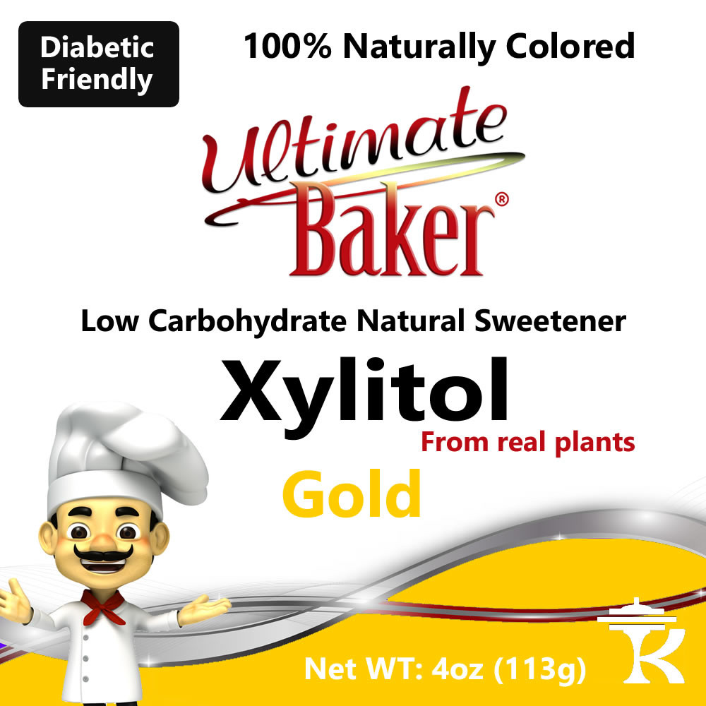 Ultimate Baker Gold Xylitol Natural Sweetener (1x4oz)