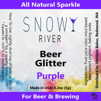 Snowy River Purple Beer Glitter (1x5.0g)