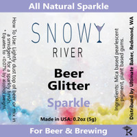 Snowy River Sparkle Beer Glitter (1x1oz)
