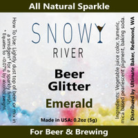 Snowy River Emerald Beer Glitter (1x1oz)