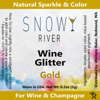 Snowy River Gold Wine Glitter (1x5.0g)