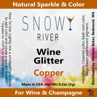 Snowy River Copper Wine Glitter (1x5.0g)