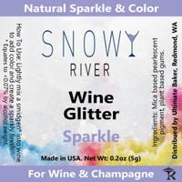 Snowy River Sparkle Wine Glitter (1x5.0g)